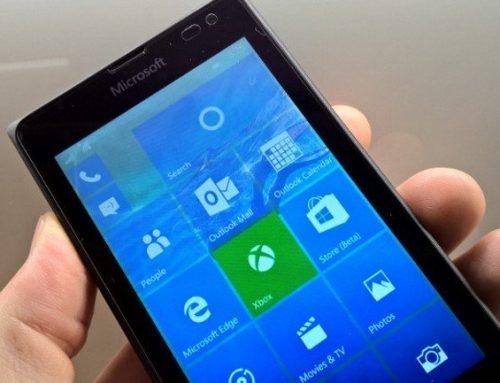 Capturas de pantalla de Windows 10 Mobile Build 10149
