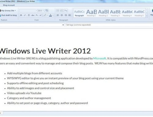 Microsoft liberará en código abierto Windows Live Writer